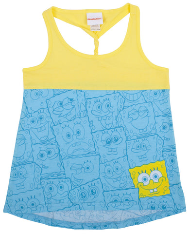 "SpongeBob SquarePants ""Crowd of Faces"" Twist Tank - Tween"