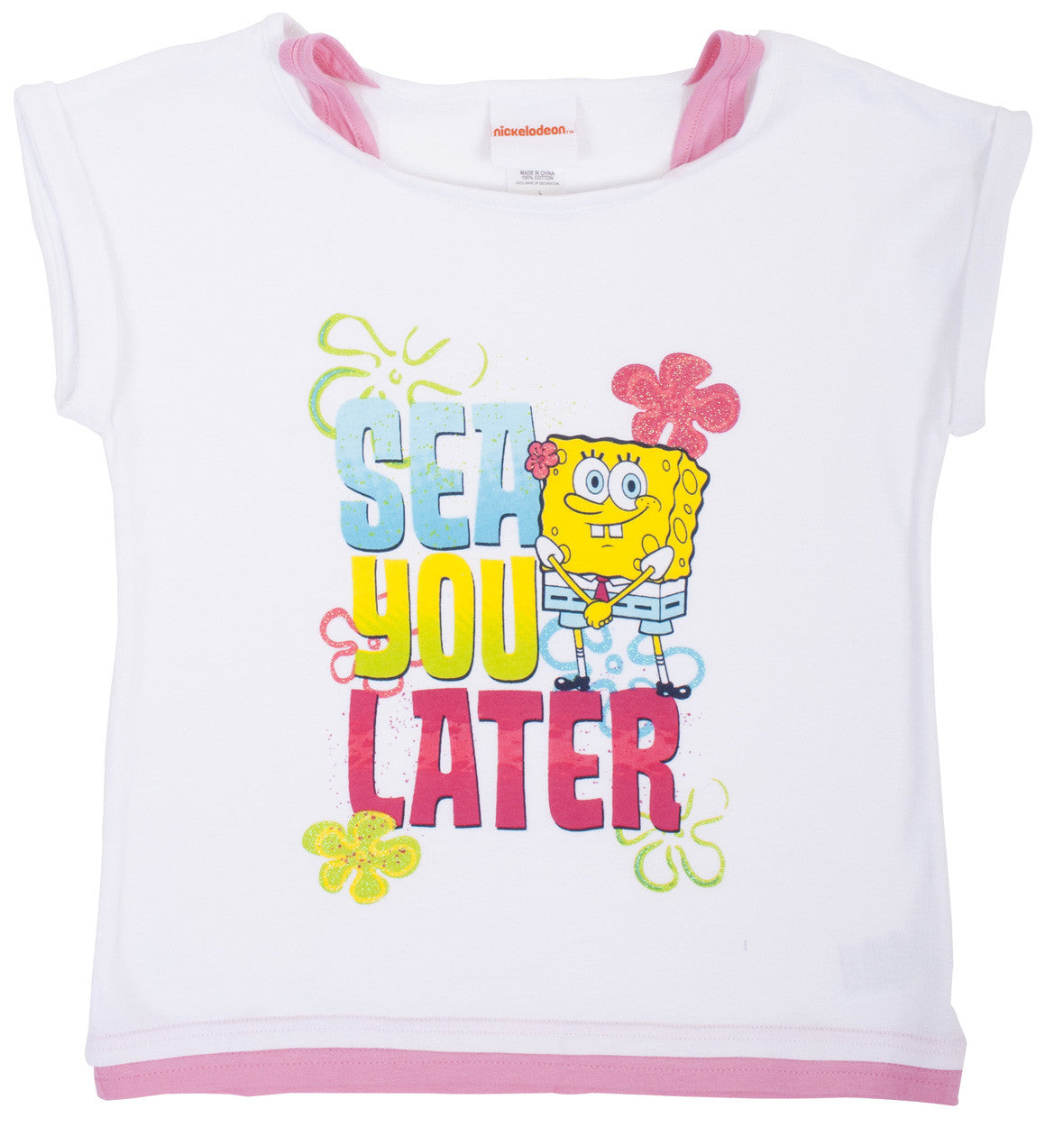 SpongeBob SquarePants Sea Ya T-shirt