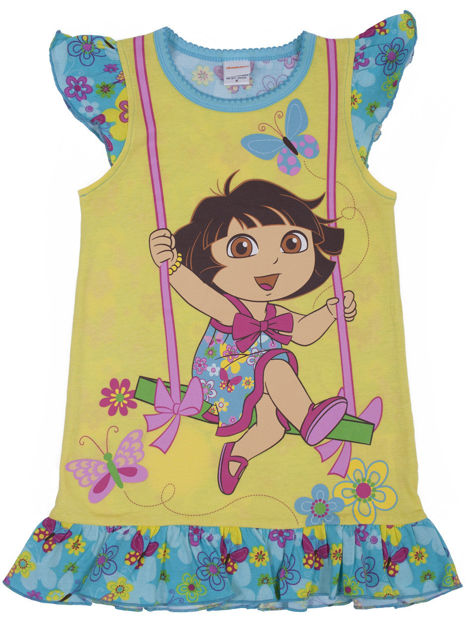 "Dora The Explorer ""Swing"" Nightgown - Toddler - nickelodeonstore.co.uk"