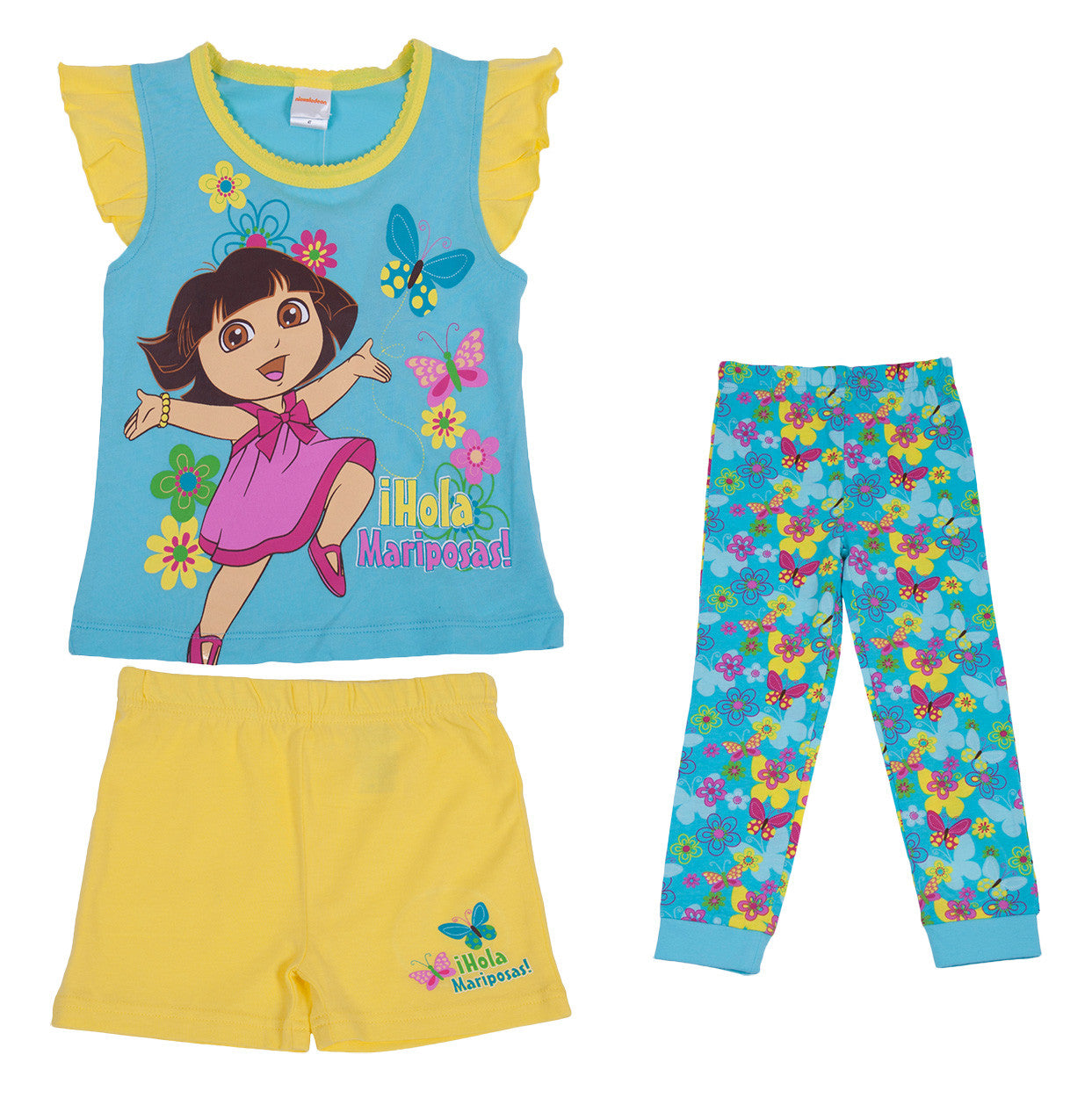 "Dora The Explorer ""Butterfly"" 3pc Set - Toddler - nickelodeonstore.co.uk"