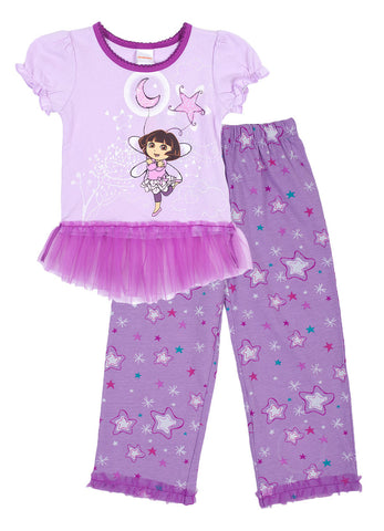 "Dora The Explorer ""Starry Balloons"" 2pc PJ Set - Toddler"