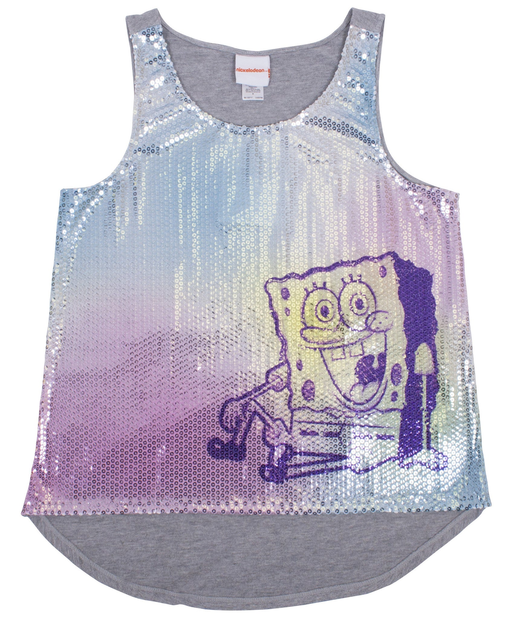 SpongeBob SquarePants Sequin Tank - Junior