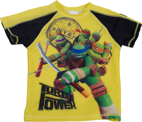 "Teenage Mutant Ninja Turtles ""Turtle Power"" Rash Guard - Youth"
