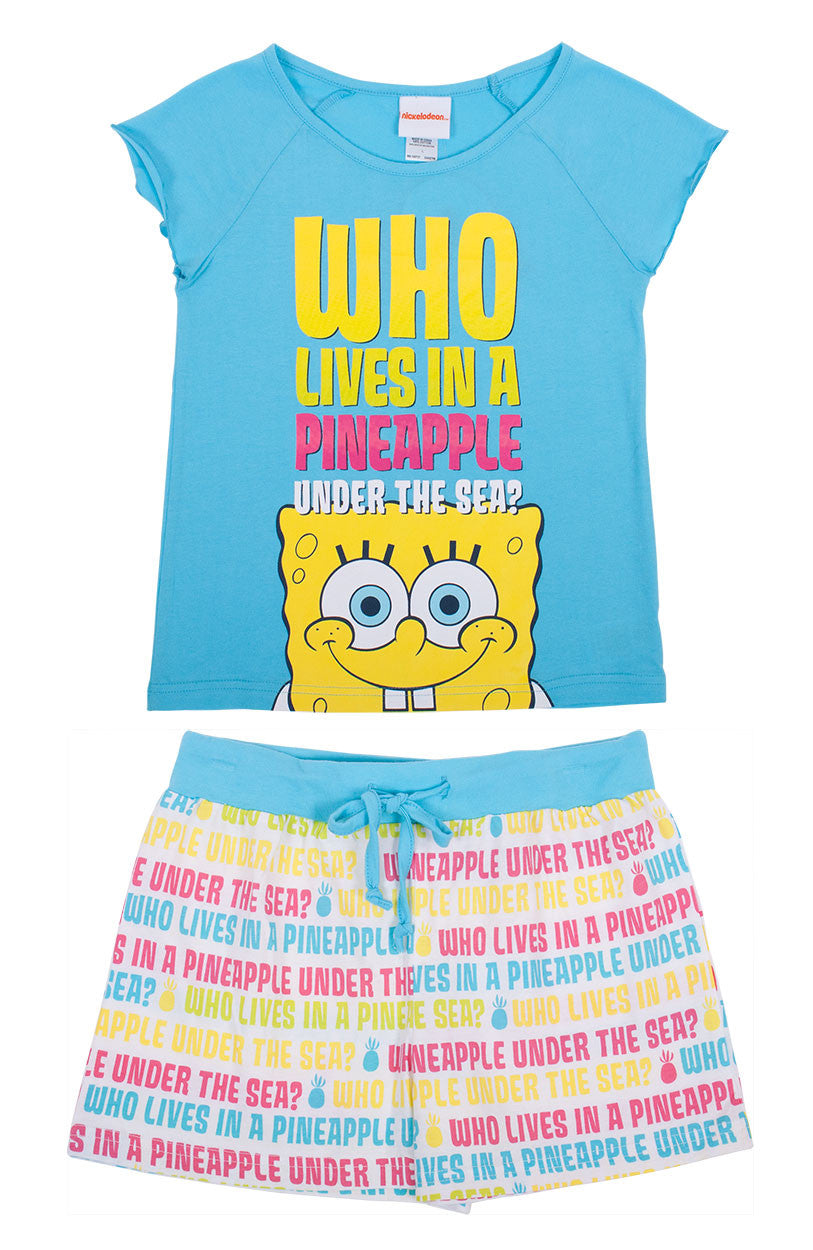 SpongeBob SquarePants under the sea sleep set
