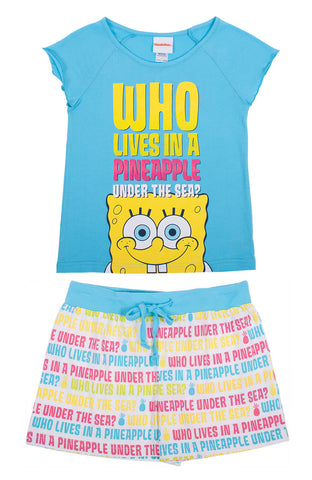 "SpongeBob SquarePants ""Under The Sea"" Sleep Set - Tween"