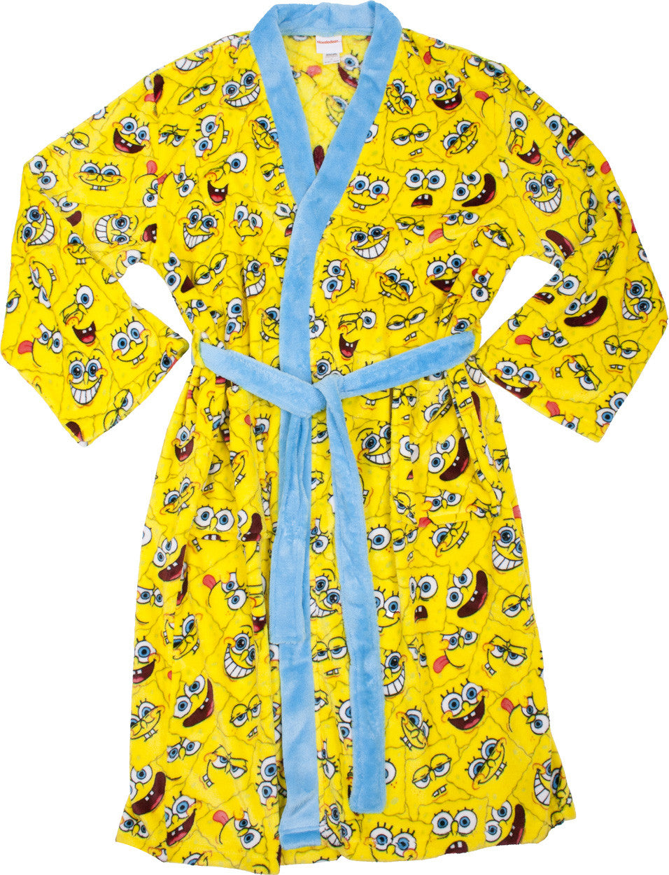 SpongeBob SquarePants Faces Robe - Adult