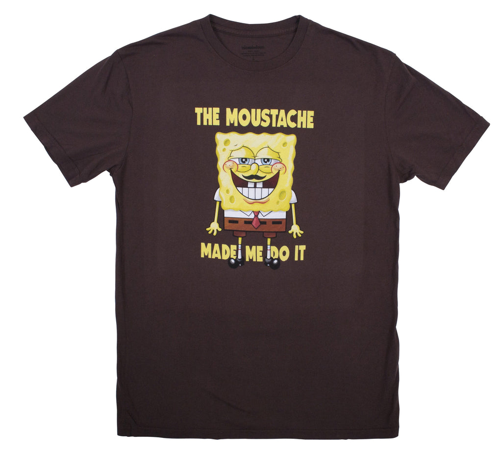 SpongeBob SquarePants Moustache Tee - Mens
