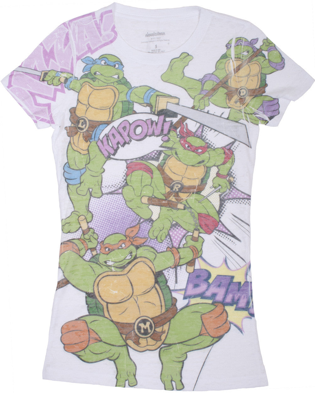 Teenage Mutant Ninja Turtles Comic T-Shirt - Junior