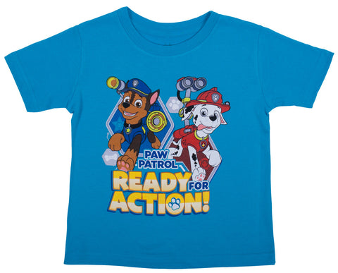 Paw Patrol Ready Action Tee - Toddler