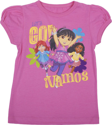 "Dora and Friends ""Lets Go"" Tee - Toddler"