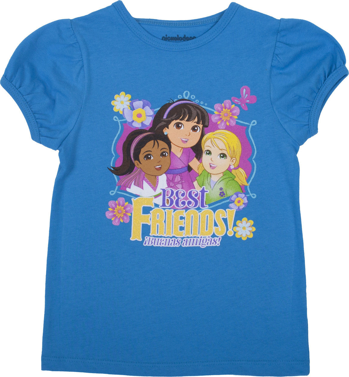 "Dora and Friends ""Best Friends"" Tee - Toddler - nickelodeonstore.co.uk"
