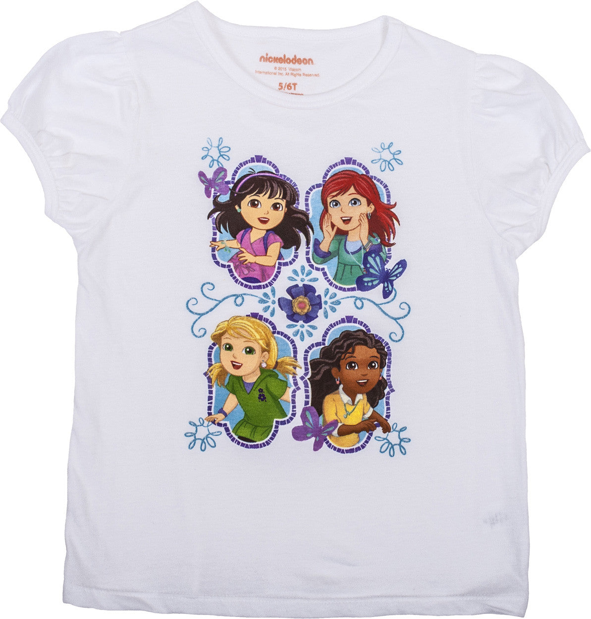 "Dora and Friends ""Adventure Awaits"" Tee - Toddler - nickelodeonstore.co.uk"