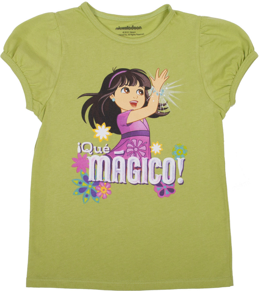 "Dora and Friends ""Que Magico"" Tee - Toddler - nickelodeonstore.co.uk"