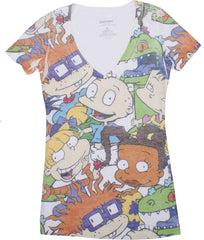 Rugrats Cast Tee - Ladies - nickelodeonstore.co.uk