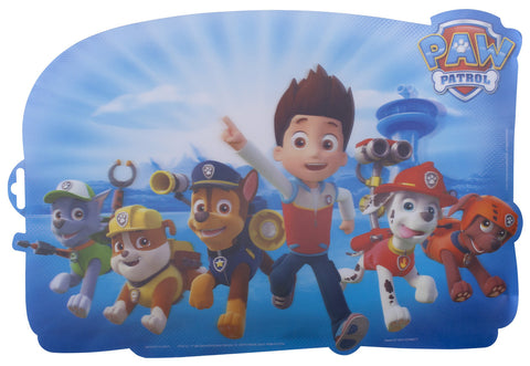 Paw Patrol Lenticular Shaped Placemat - nickelodeonstore.co.uk