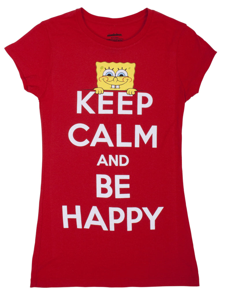 "SpongeBob SquarePants ""Keep Calm"" Tee - Junior"