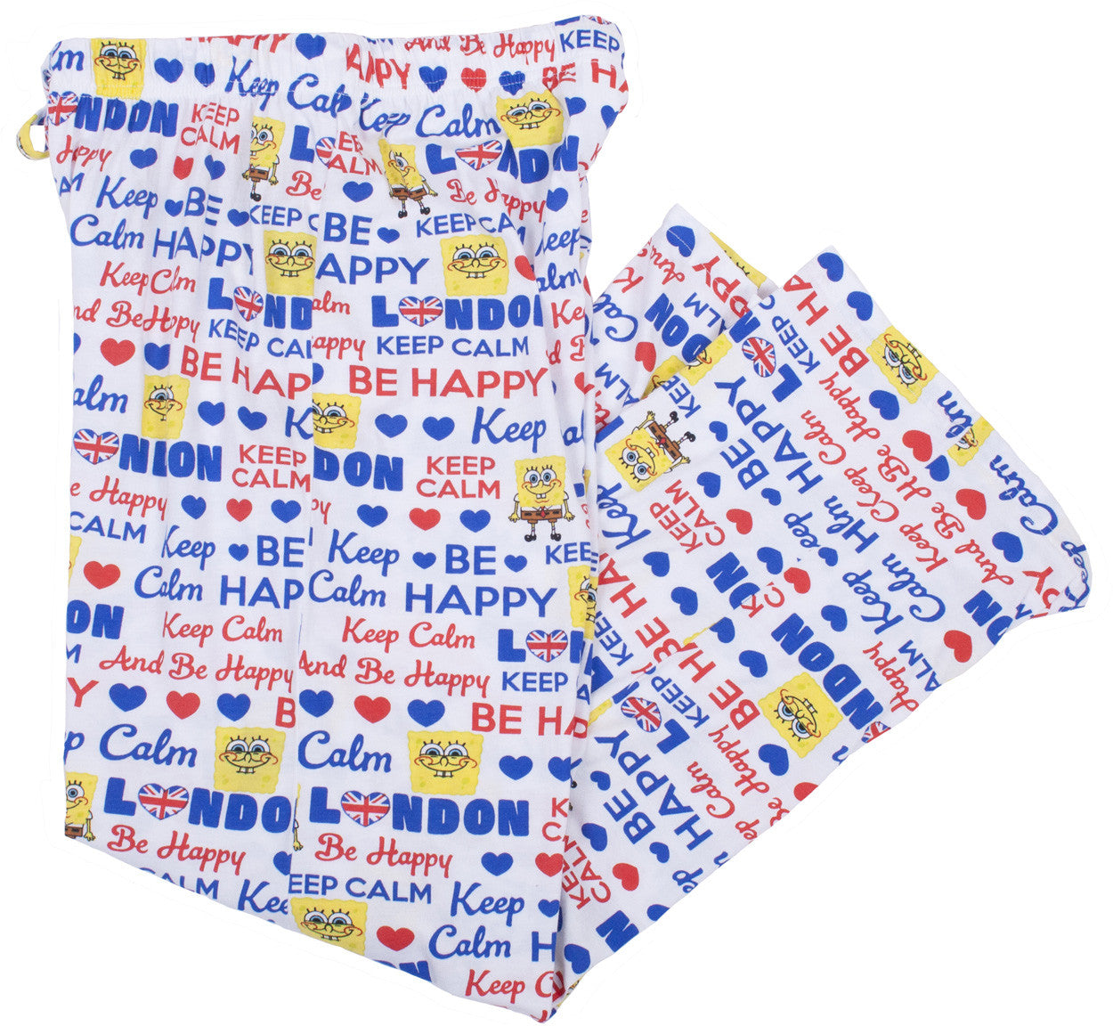 "SpongeBob SquarePants ""Keep Calm"" Sleep Pants - Junior"