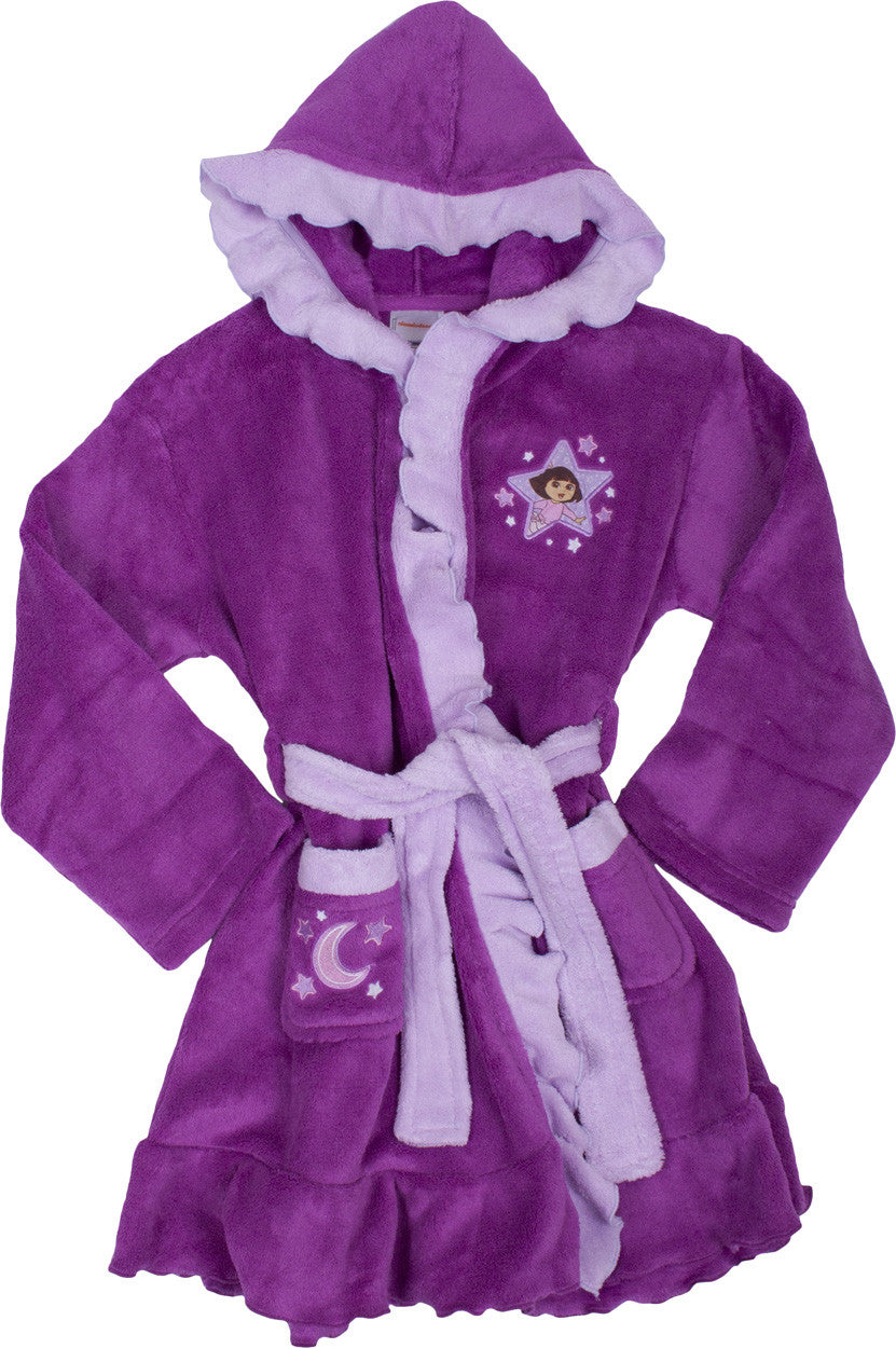 "Dora The Explorer ""Moonlight"" Robe - Toddler - nickelodeonstore.co.uk"