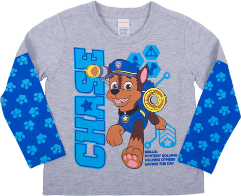 Paw Patrol Chase Longsleeve Twofer - Toddler