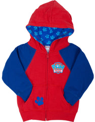Paw Patrol Chase & Marshall Full Zip Hoodie - Toddler - nickelodeonstore.co.uk