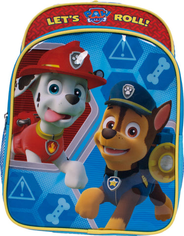 "Paw Patrol ""Lets Roll"" Backpack - Youth"