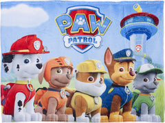 Paw Patrol Multi Character Plush Blanket - nickelodeonstore.co.uk