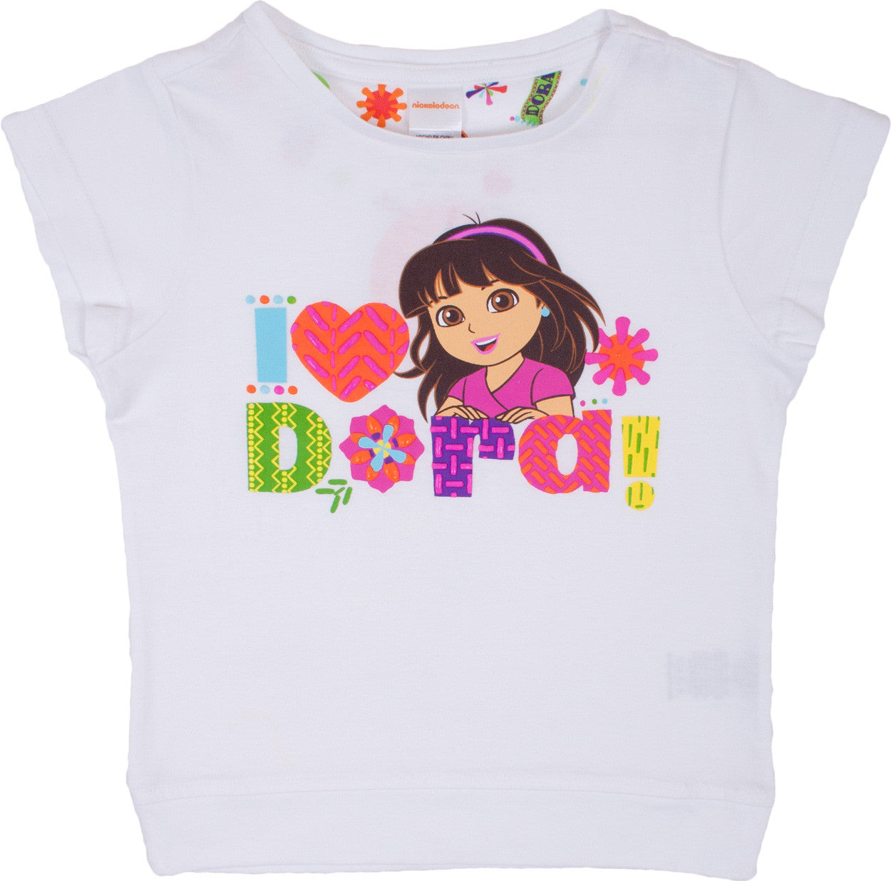 "Dora and Friends ""I Heart Dora"" Tee - Girls - nickelodeonstore.co.uk"