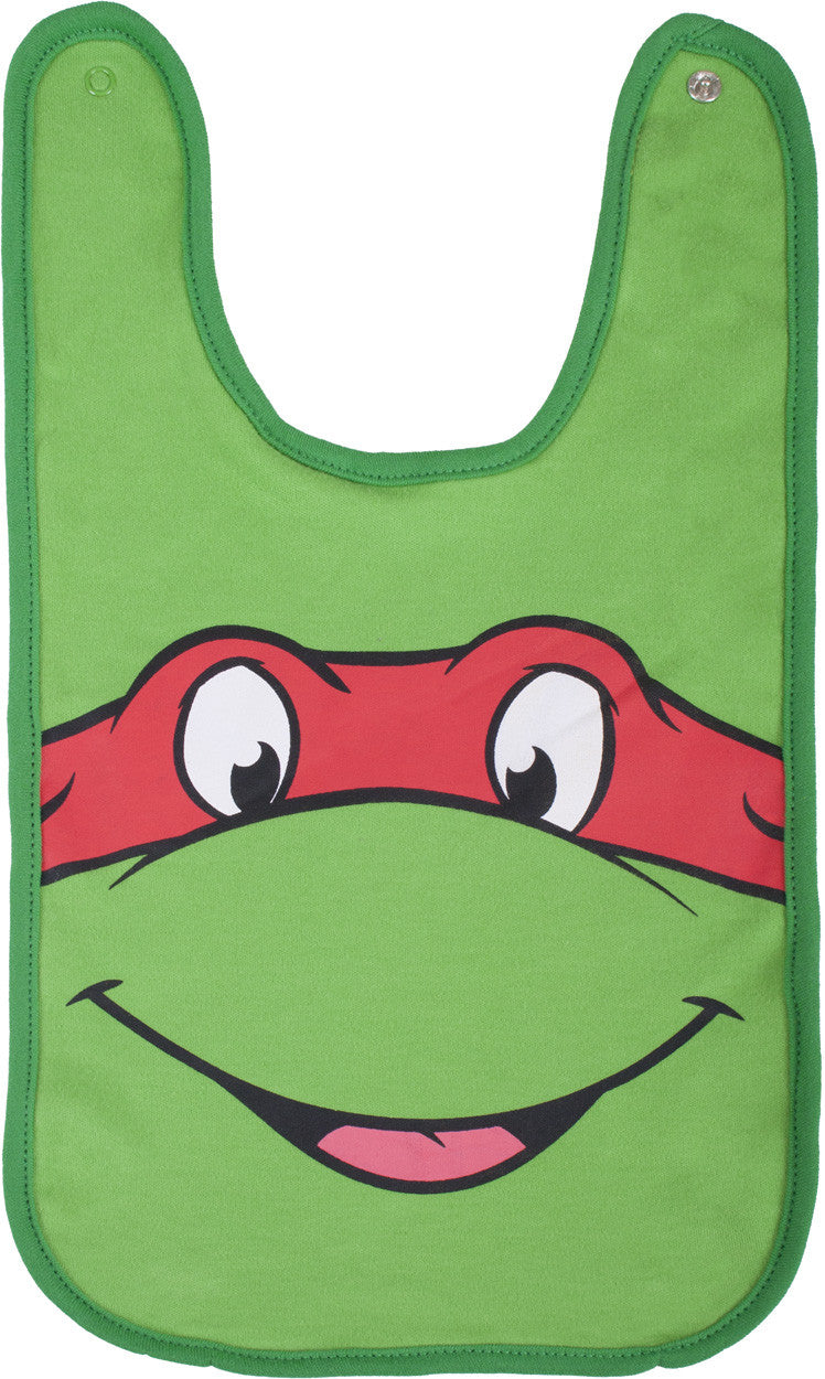 Teenage Mutant Ninja Turtles Raphael Reversible Bib - Infant