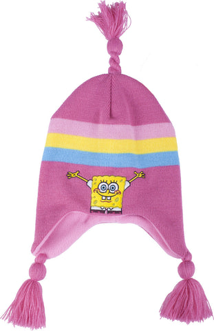 SpongeBob SquarePants Rainbow Knit Hat - Girls