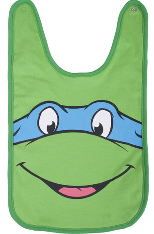 Teenage Mutant Ninja Turtles Leonardo Reversible Bib - Infant