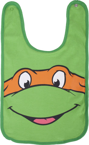 Teenage Mutant Ninja Turtles Mikey Reversible Bib - Infant