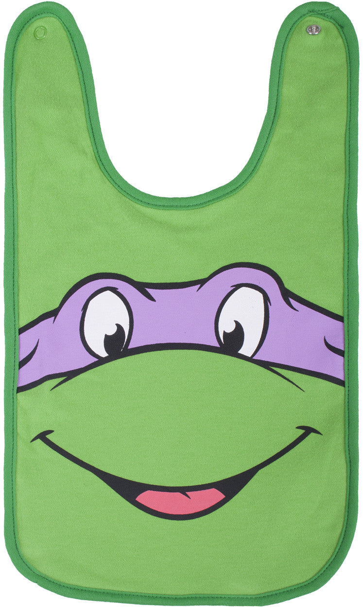 Teenage Mutant Ninja Turtles Donnie Reversible Bib - Infant