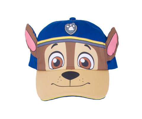Paw Patrol Chase Big Face Hat with Ears - Youth