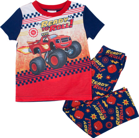 "Blaze ""Ready To Roll"" 2pc PJ set - Toddler"