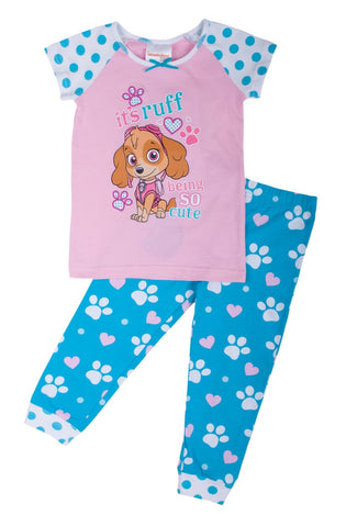 "Paw Patrol ""So Cute"" Girls PJ Set - Toddler"