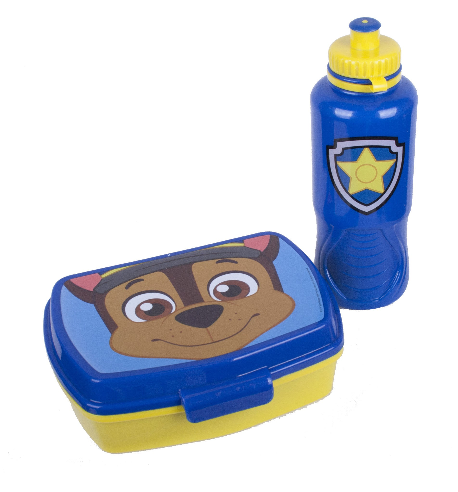Paw Patrol Chase Snack & Water Bottle Set