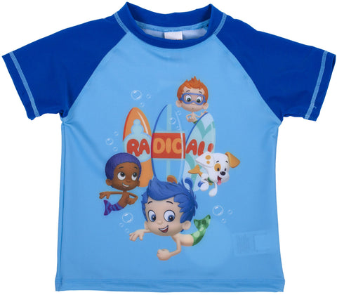 Bubble Guppies Multi Character Rash Guard - Toddler