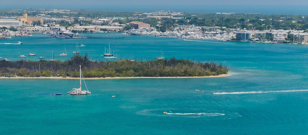 Parasailing Key West - Bird's Eye View