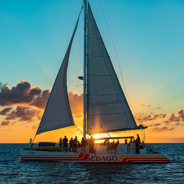 Sebago Flyer at Key West Sunset