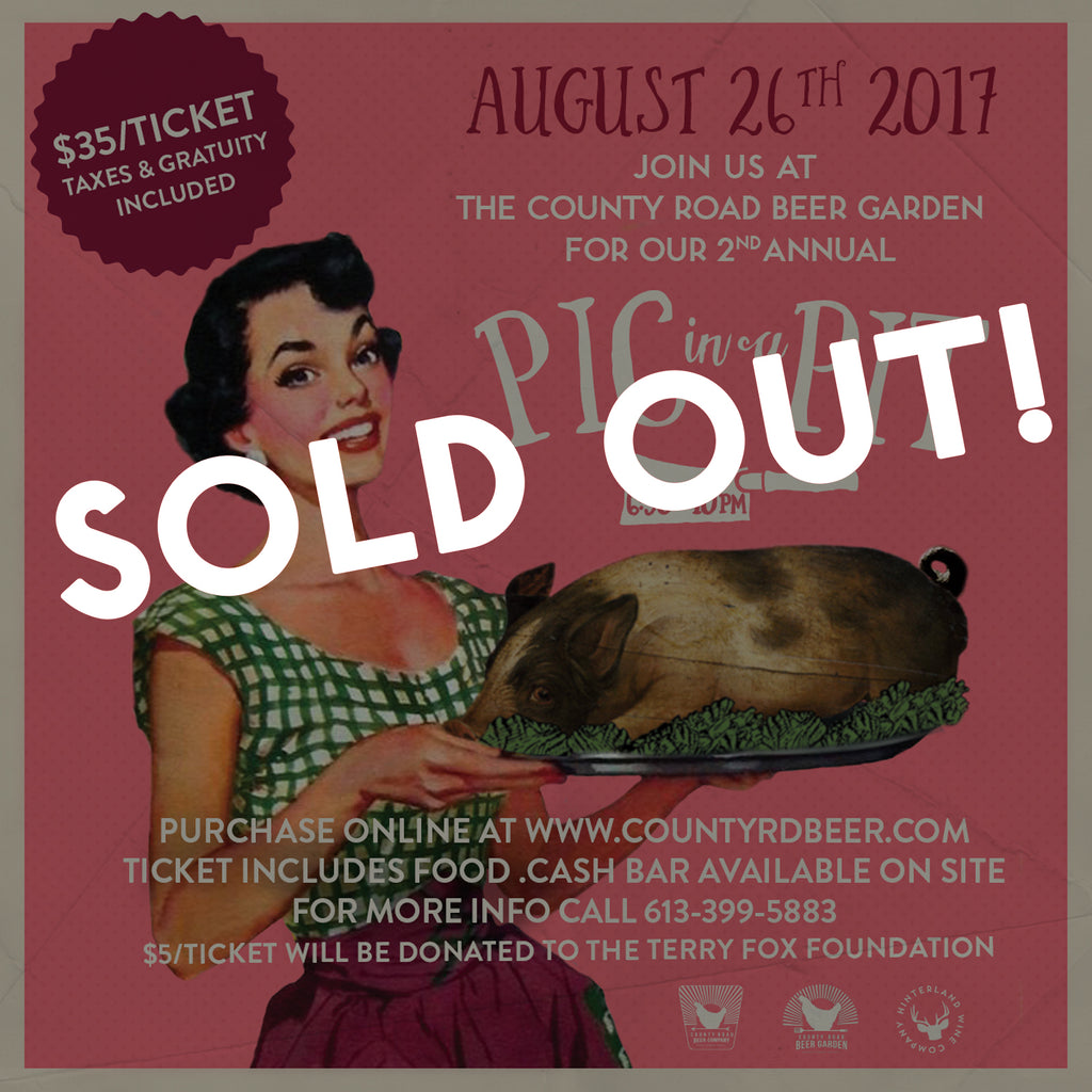 Pig in a Pit Event — SOLD OUT!