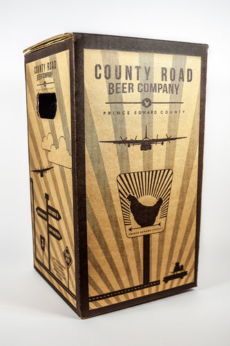 COUNTY ROAD BEER GIFT BOX — Shipping will begin as of June 23rd.