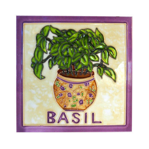 Ceramic Basil Wall Tile