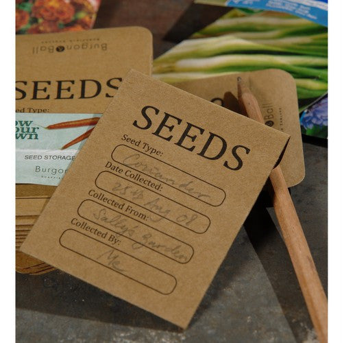 Burgon and Ball Seed Storage Envelopes