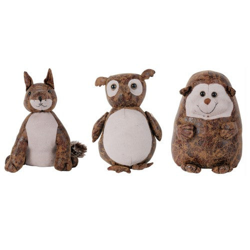 One Woodland Animal Doorstop