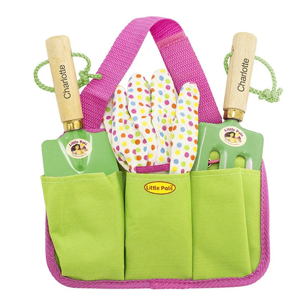 Kids Personalised Gardening Tool Kit - Girls