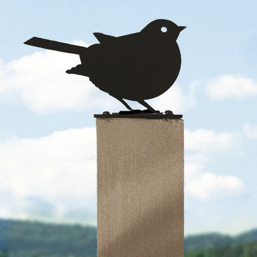 Steel Robin Fence Post Finial