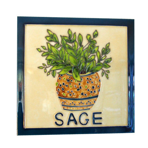 Ceramic Sage Wall Tile