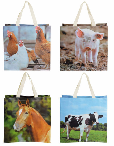 Shopping Bag Farm Animal