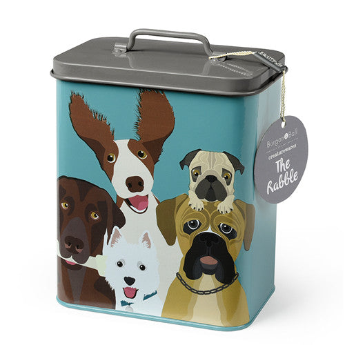 """The Rabble"" Dog Storage Tin"