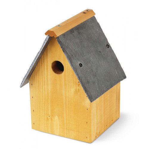 Slate Roof Bird Nesting Box
